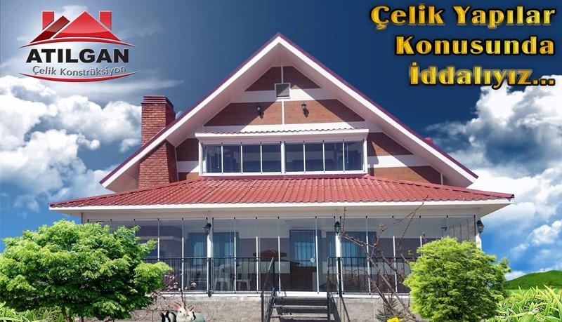 atilgan prefabrik yapı - celik yapı - modern villa (2)