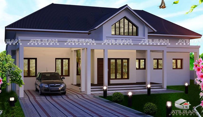 atilgan prefabrik yapı - celik yapı - modern villa (4)