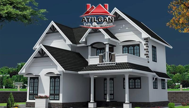 atilgan prefabrik yapı - celik yapı - modern villa (6)