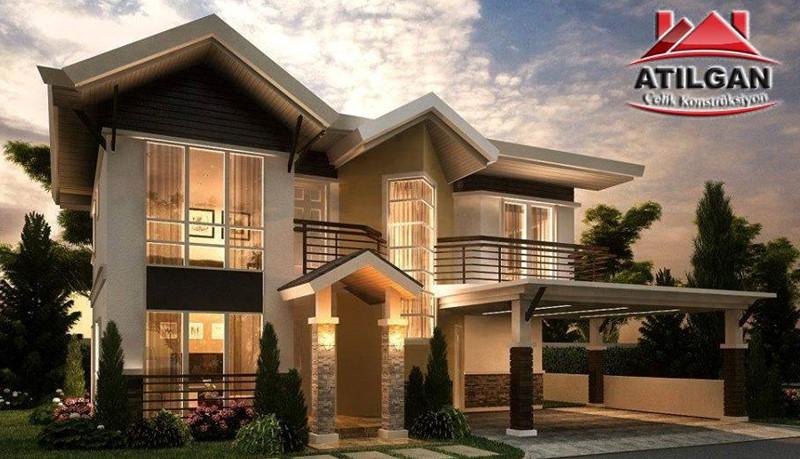 atilgan prefabrik yapı - celik yapı - modern villa (8)